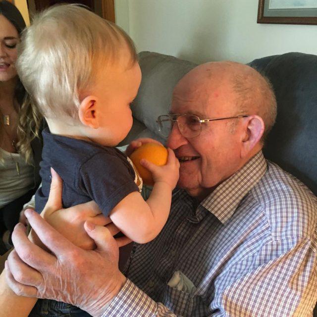 Great Grandparent visit was definitely 1 of Things Im Lovinghellip