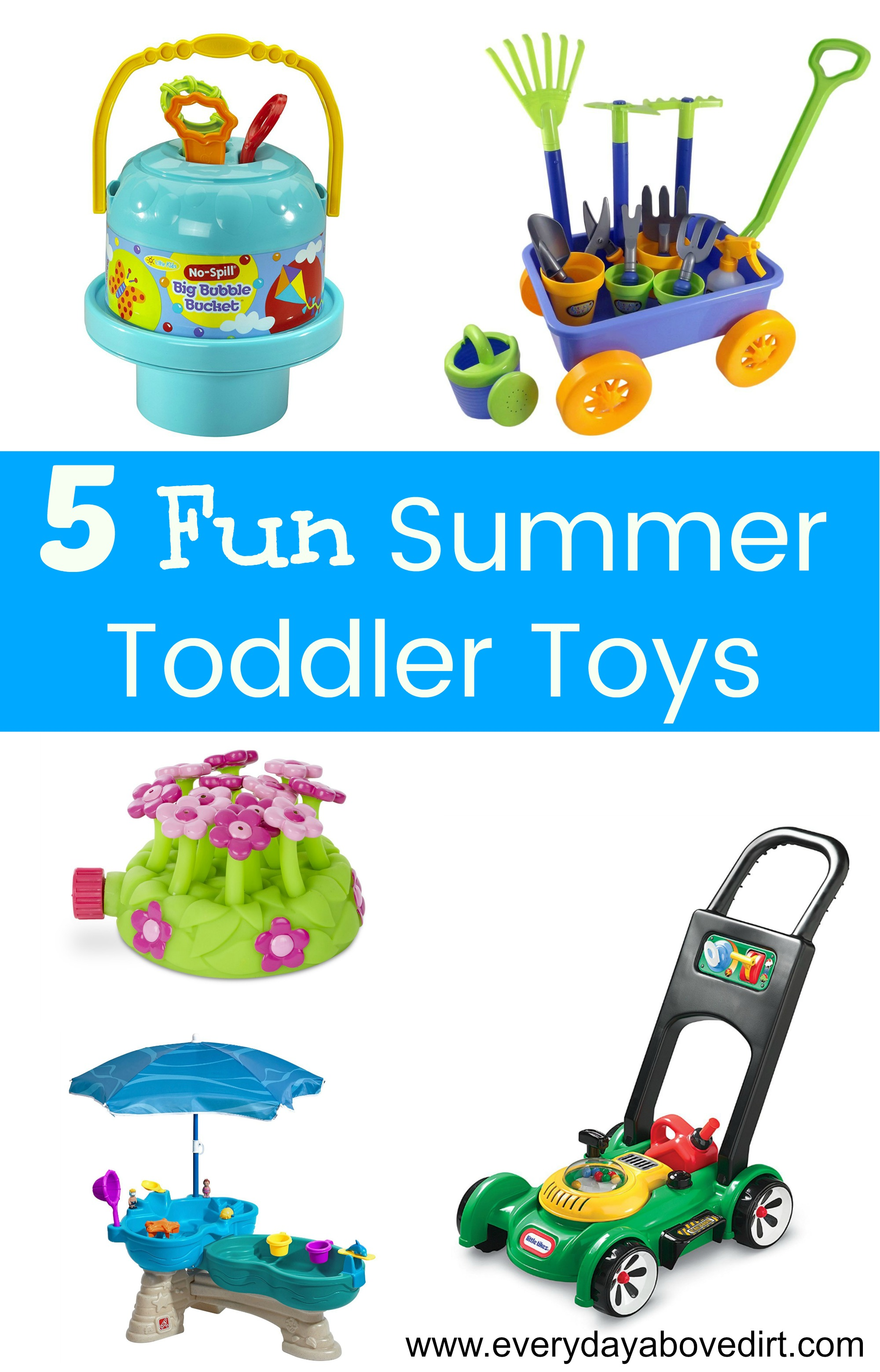 Fun Summer Toys are the key to a successful summer.
