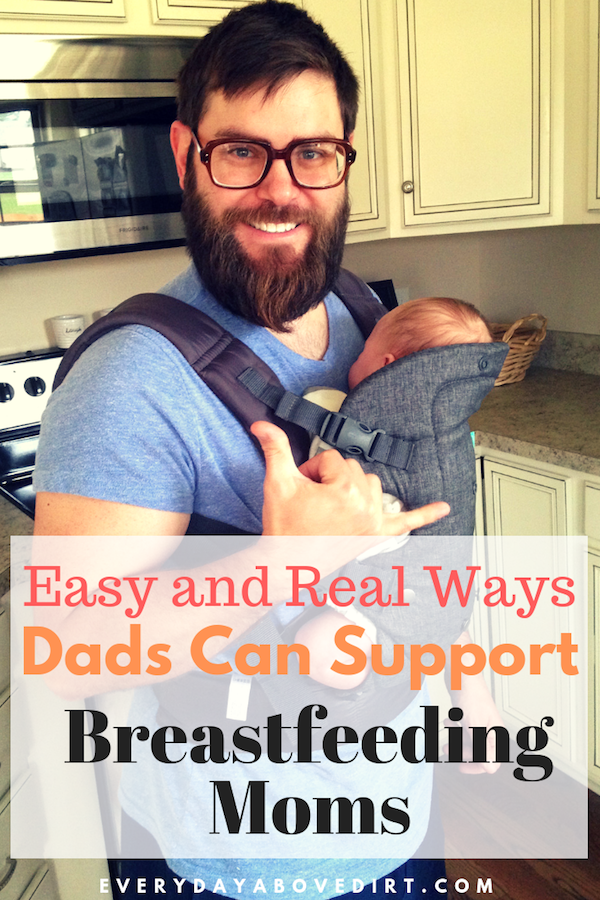Dad Can Support Breastfeeding Moms