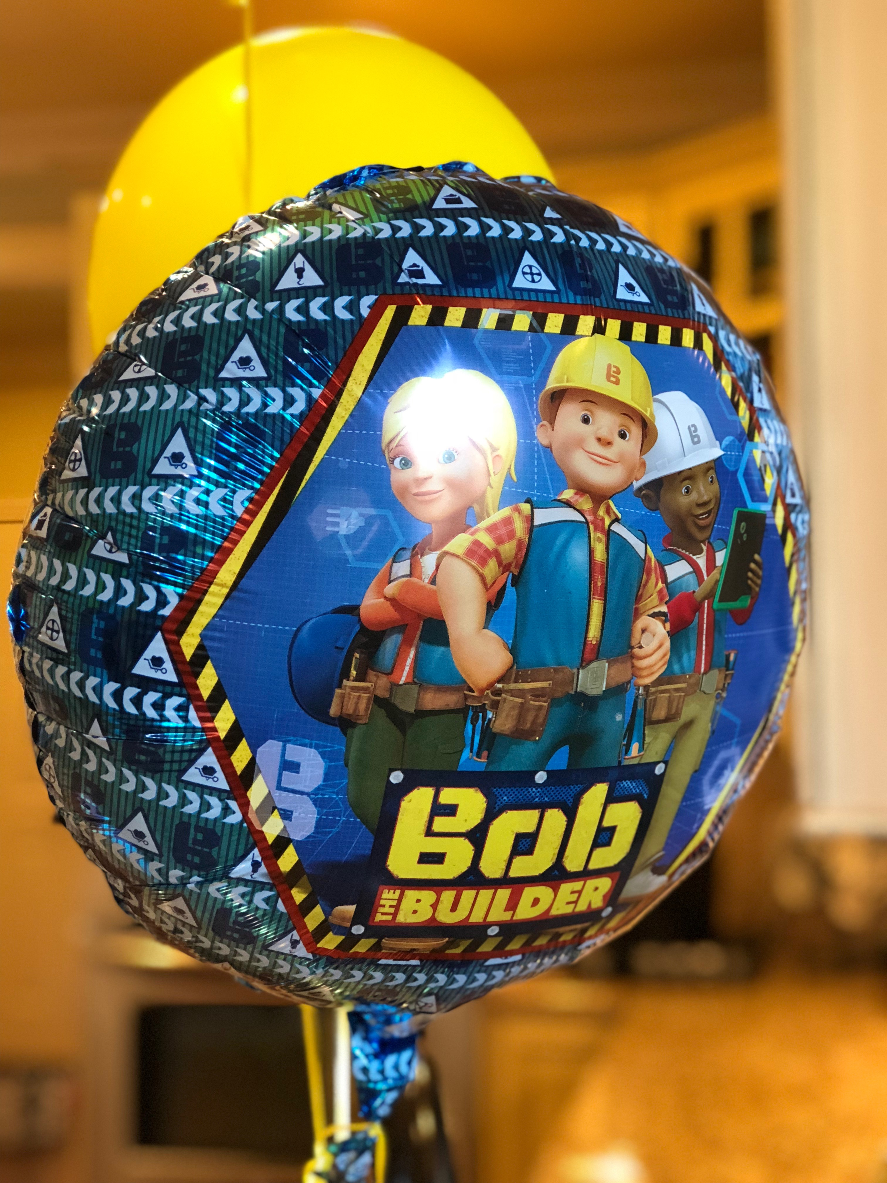 Bob the Builder Mylar Balloon