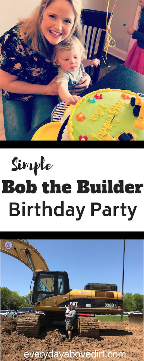 Bob the Builder : Construction Themed Birthday Party