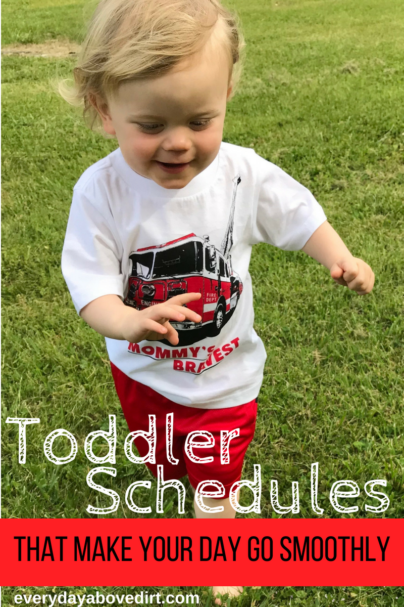 Do you need a toddler schedule? This post contains schedules and routines that will make your day go smoothly!