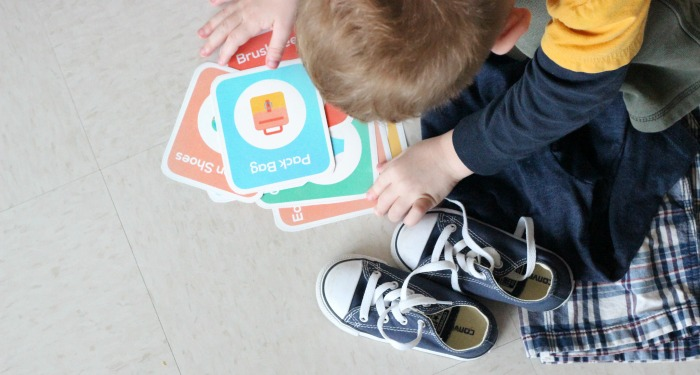 toddler schedules need a routine. These routine cards will make your toddler feel more secure in their day.