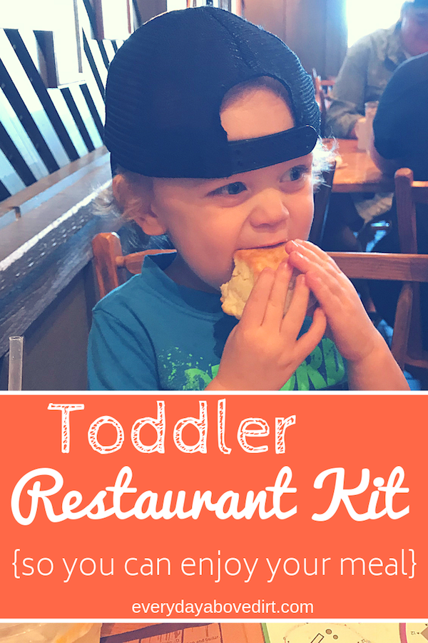 Toddler Restaurant Kit Ideas