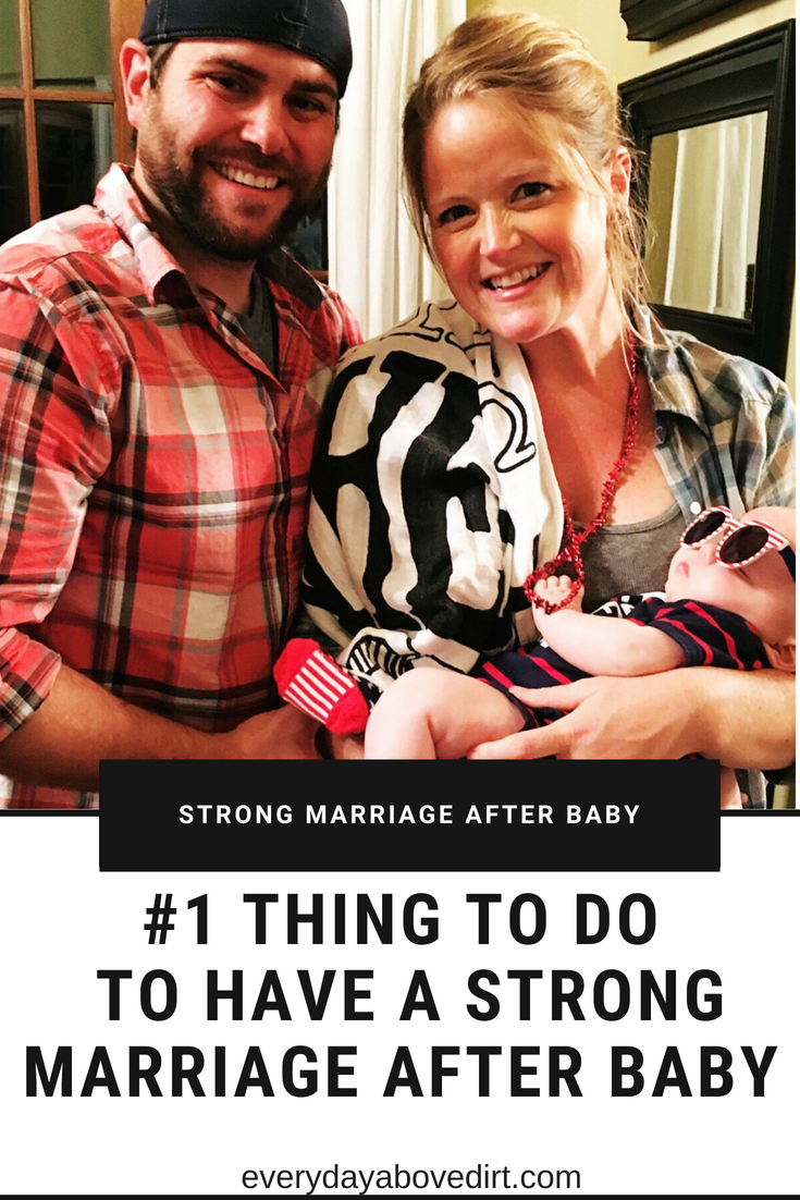 strong marriage after baby