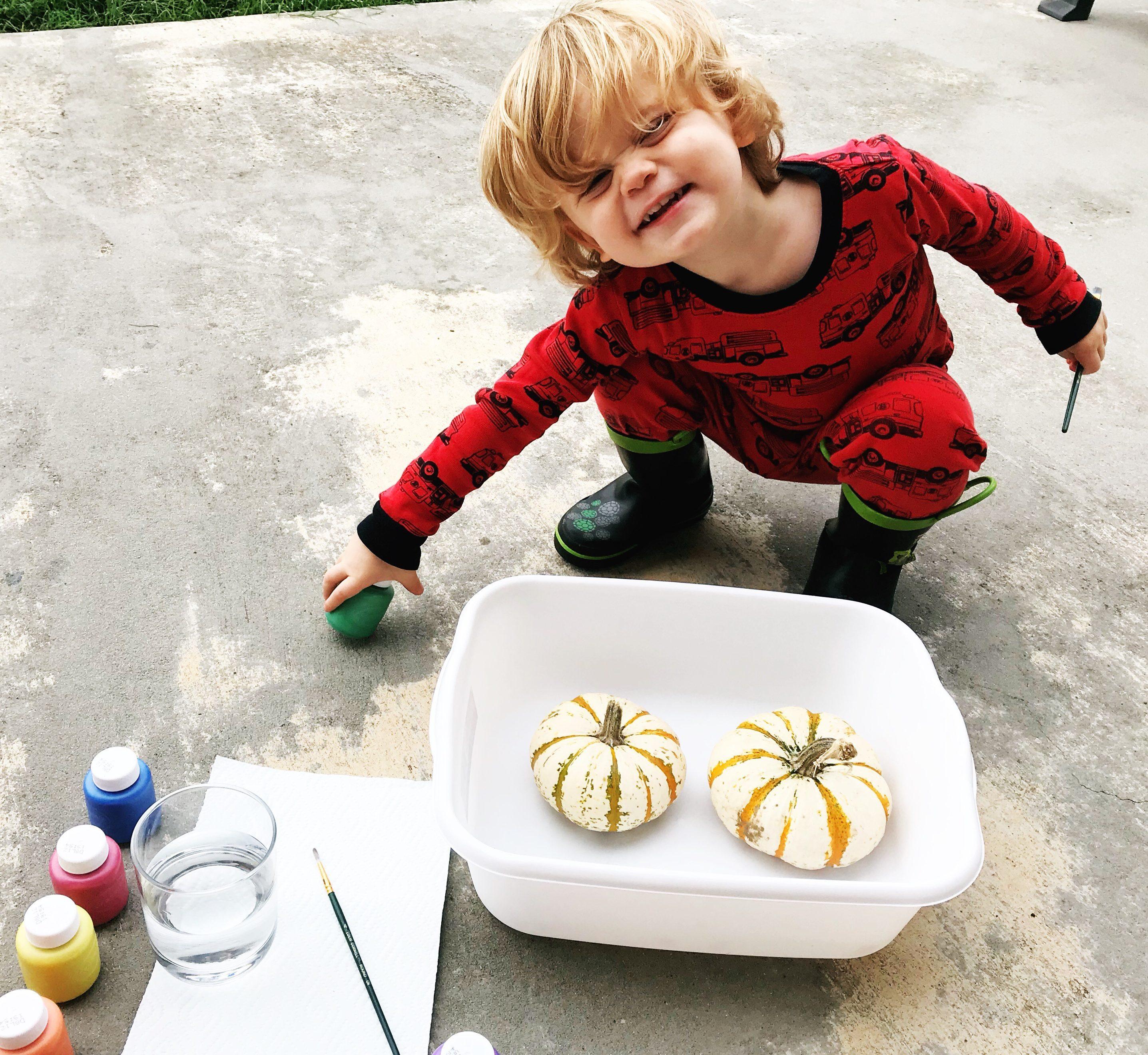pumpkin activités for toddlers