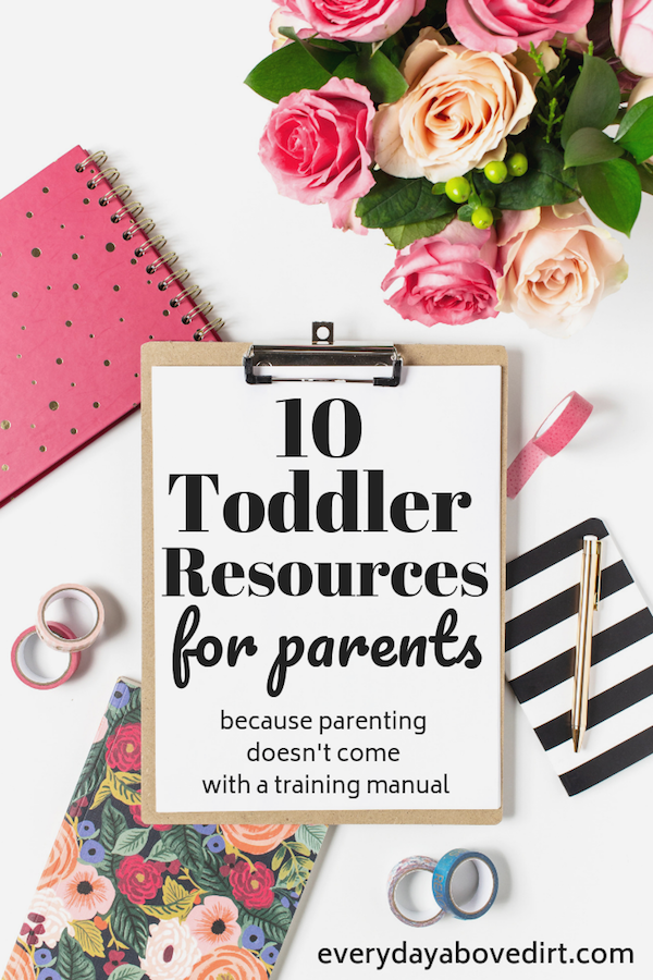 10 Toddler Resources for Parents