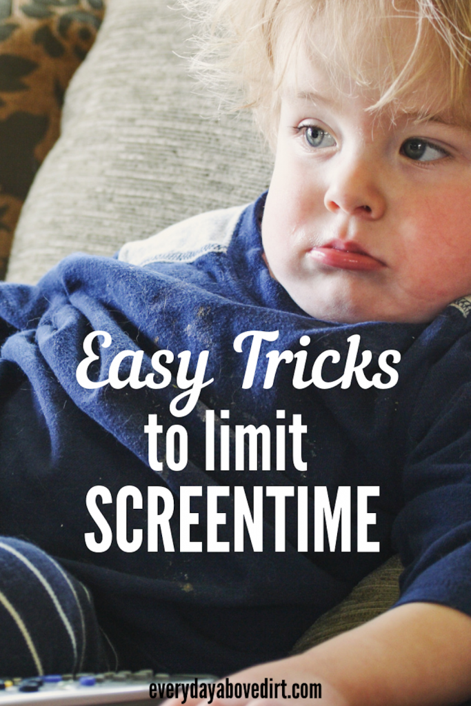 easy tricks to limit screen time