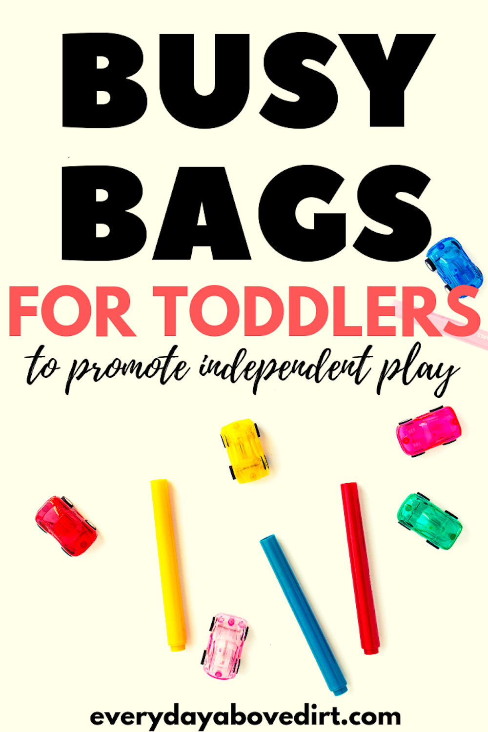 Busy Bags for Toddlers