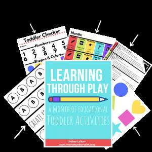indoor activities for toddlers under 2