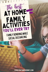 easy activities for families to do at home